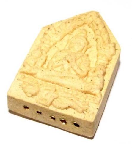 Khun Phaen Mae Ber Prai Kumarn Riak Koo Amulet with 6 Takrut Maha Sanaeh Spell inserts for Attracting Your Mate in Life.