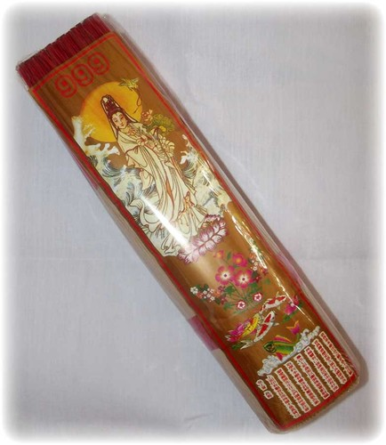 Kwan Yin Long Life High quality low smoke Sandalwood Incense - 999 Brand - 800 Grams 13 Inches long