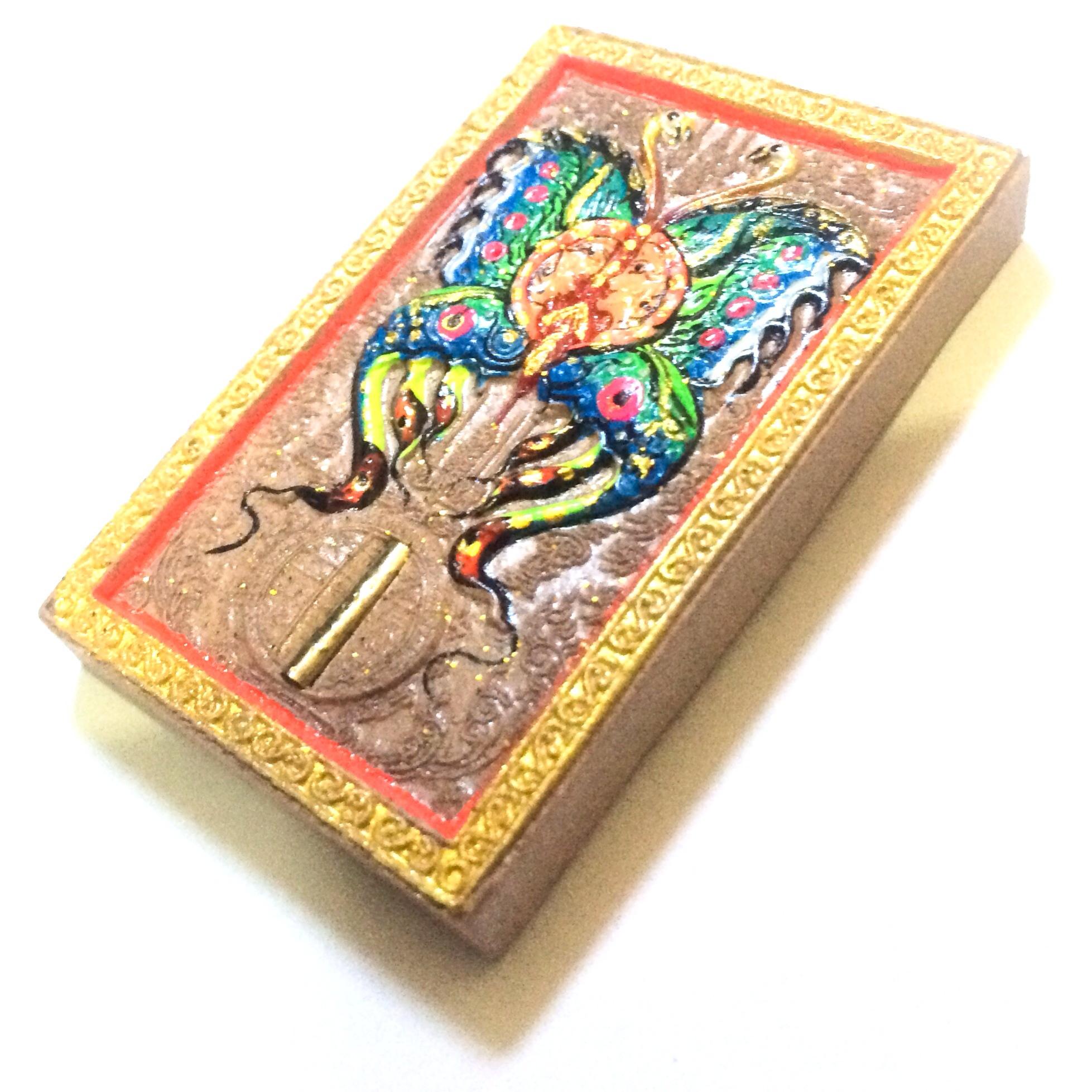 Taep Bin See Khiaw Butterfly King amulet by Kroo Ba Krissana