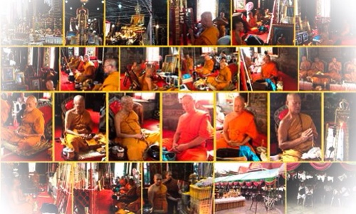 Guru Master Monks blessing Amulets