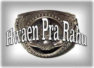Hwaen Pra-Rahu Asura Deva Eclipse God Rings Wat Ballangk