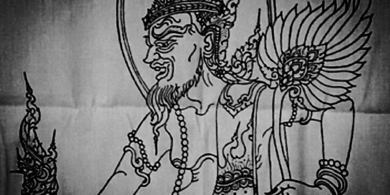 Lersi Dern Dong Yantra Cloth Ajarn Hnan Kong